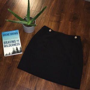🐳Dressy black skirt